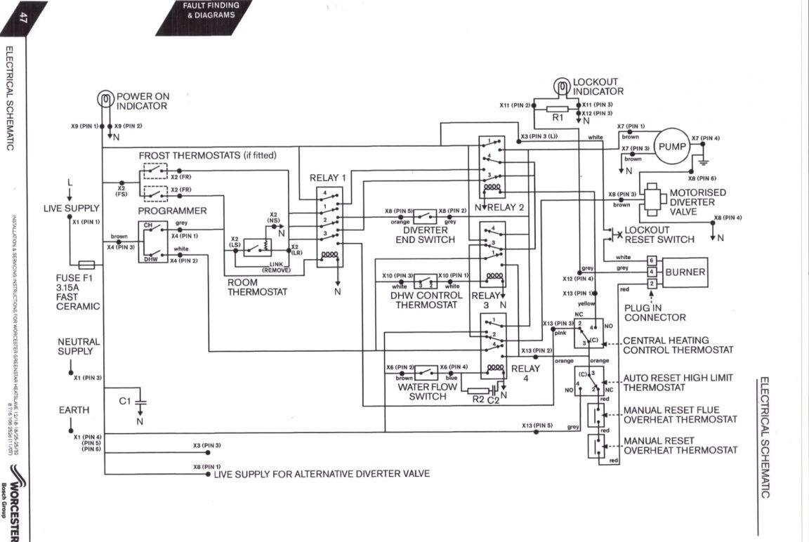 steam boiler wiring diagram Collection-Steam Boiler Wiring Diagram New Boiler Control Wiring Diagrams Steam 19-q