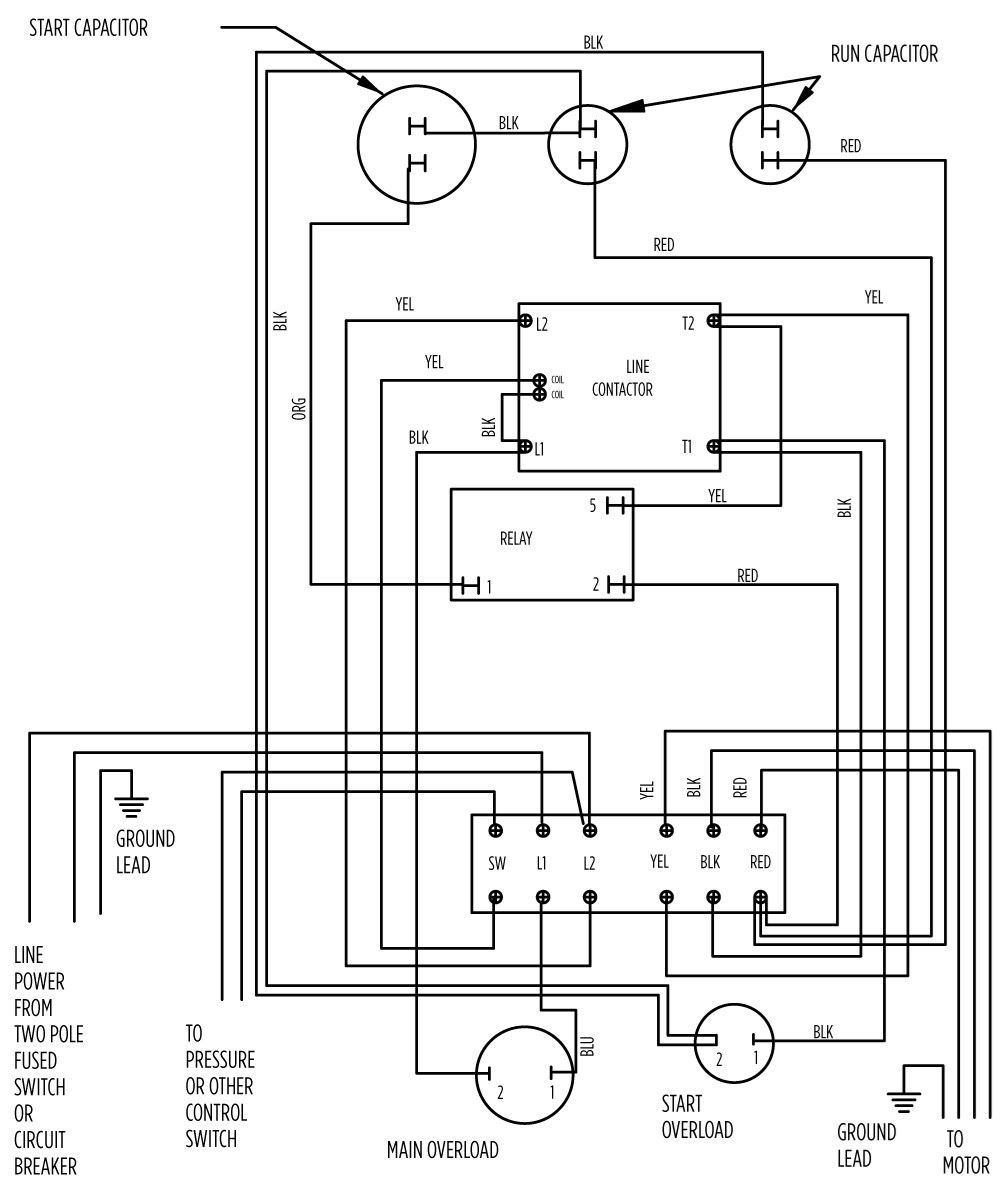 Submersible Pump Control Box Wiring Diagram