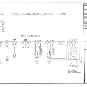 Sump Pump Control Panel Wiring Diagram - Pump Panel Wiring Diagram Wire Center U2022 Rh Linxglobal Co · Contemporary Pump Control 5d