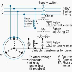 Supco 3 In 1 Wiring Diagram - Current Relay Wiring Diagram New Secondary Injection Tests for Checking the Correct Operation the 5c