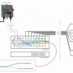 T568b Wiring Diagram Patch Panel - Patch Panel Diagram Fresh Cat 5 Patch Panel Diagram Wiring Diagram Wiring Diagram T568b Wiring 13t