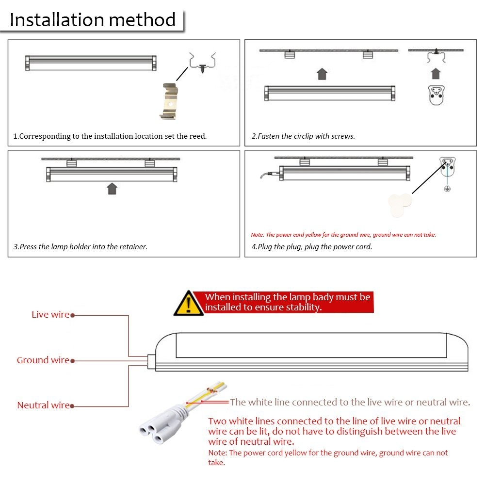 T8 Led Tube Light Wiring Diagram Free For 2 Lamp 8ft Super Bright 72w Smd2835
