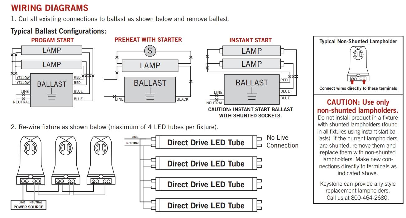 T8 Led Wiring Diagram