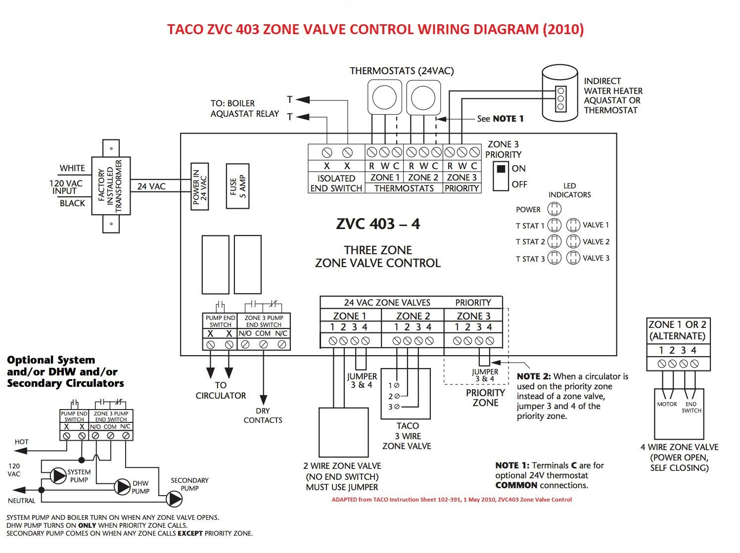 taco 007 sf5 pump wiring diagram taco zone valve 24v wiring diagram