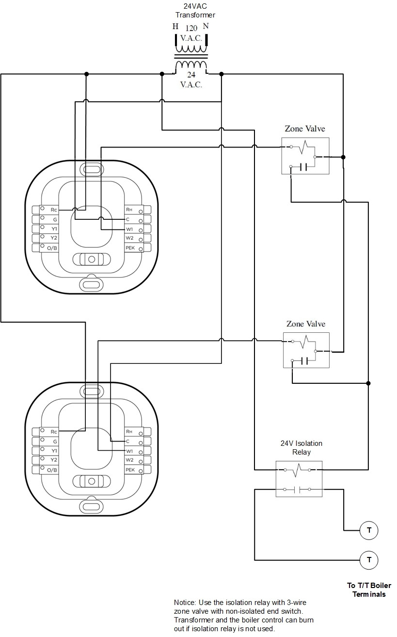 Taco 3 Wire Zone Valve Wiring Diagram