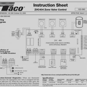 Taco 571 2 Wiring Diagram - Taco 571 Zone Valve Wiring Diagram Collection Amazing Taco 571 2 Wiring Diagram Simple for 2f