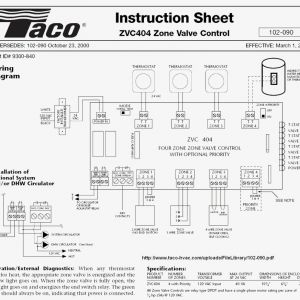 Taco 571 Zone Valve Wiring Diagram - Taco Pump Wiring Diagram Beautiful Zone Valve Wiring Diagram & Lovely Honeywell Zone Valve Wiring 20d