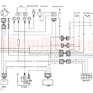 Taotao 110cc atv Wiring Diagram - Chinese 4 Wheeler Wiring Diagram Collection Outstanding Wiring Diagram for Tao 110cc 4 Wheeler and 14h