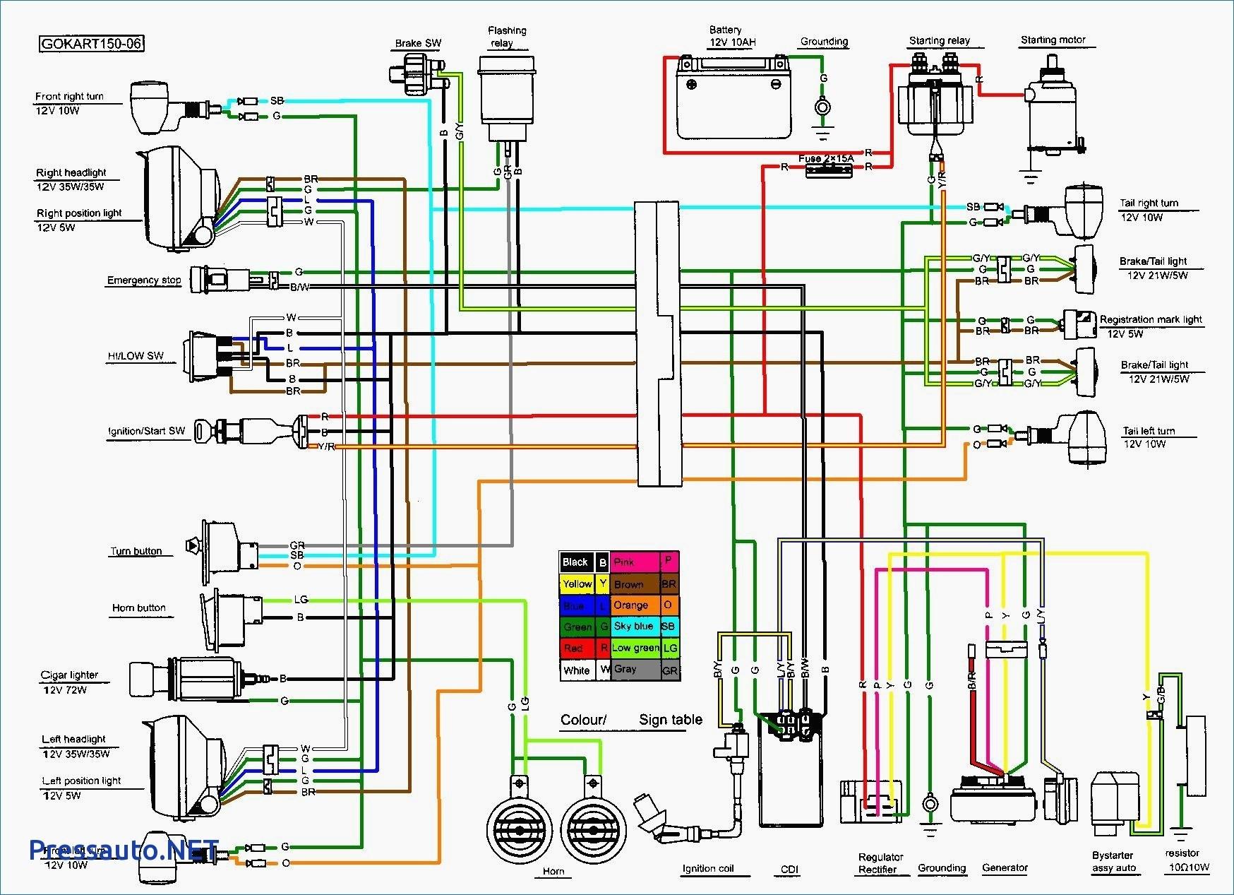 Taotao 110cc atv Wiring Diagram | Free Wiring Diagram