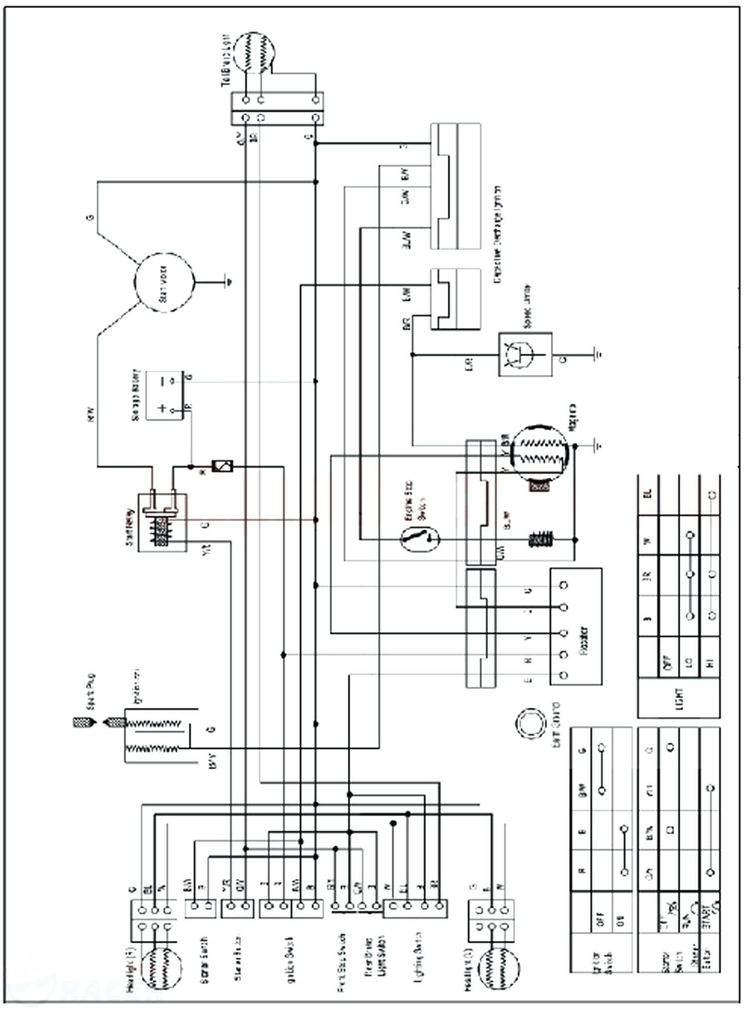 Taotao 110cc atv Wiring Diagram - Taotao 110cc atv Wiring Diagram Awesome Magnificent Tao 125 within for Alluring 110 2g