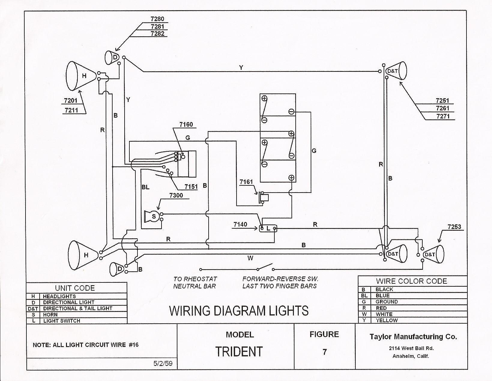 taylor dunn 36 volt wiring diagram | free wiring diagram typical golf cart wiring diagram pargo golf cart wiring diagram