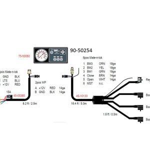 Teejet 744a 3 Wiring Diagram - Teejet 744e 3 Boom Spray Control Kit W Din Wiring 14m