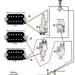 Telecaster 3 Pickup Wiring Diagram - Guitar Wiring Diagrams 3 Pickups Inspirational 3 Humbucker Strat Wiring Diagram 3 Free Wiring Diagrams 18d