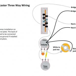 Telecaster 3 Pickup Wiring Diagram - Wiring Diagram Les Paul New Wiring Diagram Guitar Jack Fresh Guitar Wiring Diagrams 2 Pickups 7a