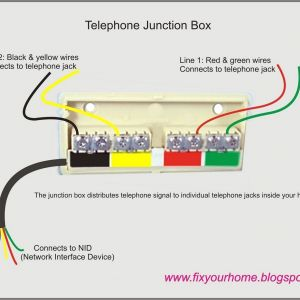 Telephone Network Interface Wiring Diagram | Free Wiring Diagram on