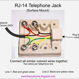 Telephone Network Interface Wiring Diagram - Rj12 Wiring Diagram Australia New Wiring 4 Wire Phone Jack Wire Center • 1s