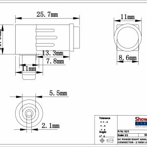 Telephone Terminal Block Wiring Diagram - 3 5 Mm Jack Wiring Diagram Fresh 2 5mm Id 5 5mm Od Power Connector 16s