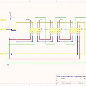 Tesla Wiring Diagram - All This Wiring is isolated From the Cells so the Gnd and 5v Can Safely Be On the 12v Wiring Potential In An Automotive Application 3a