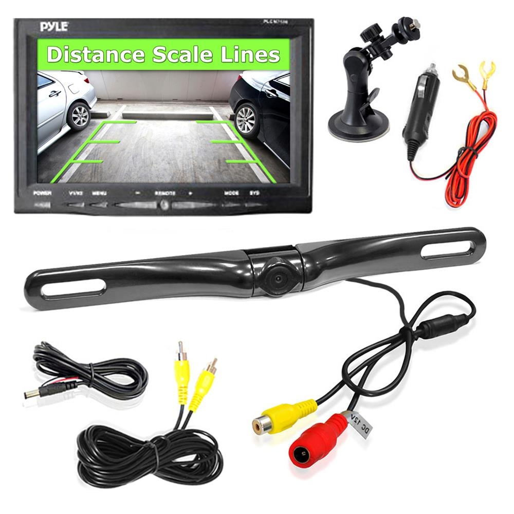 tft lcd monitor reversing camera wiring diagram | free ... gallery of tft backup camera wiring diagram pyle backup camera wiring diagram 7500 #12