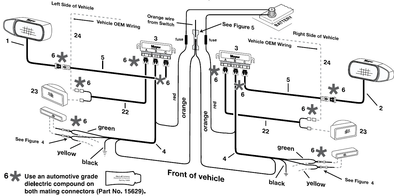 the boss snow plow wiring diagram