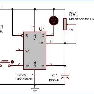 Timer Relay Wiring Diagram - Time Delay Relay Wiring Diagram Collection 1 Minute Timer Circuit Diagram 7 T Download Wiring Diagram Detail Name Time Delay Relay 12r