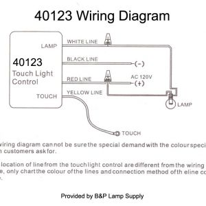 Touch Lamp Sensor Wiring Diagram - Wiring Instructions 17e