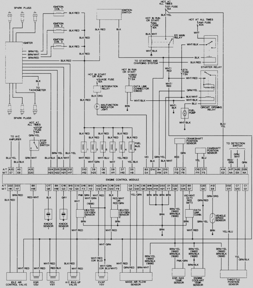 toyota 4runner wiring diagram Download-1998 Toyota 4runner Wiring Diagram Lighting Repair Guides Diagrams AutoZone 10-g