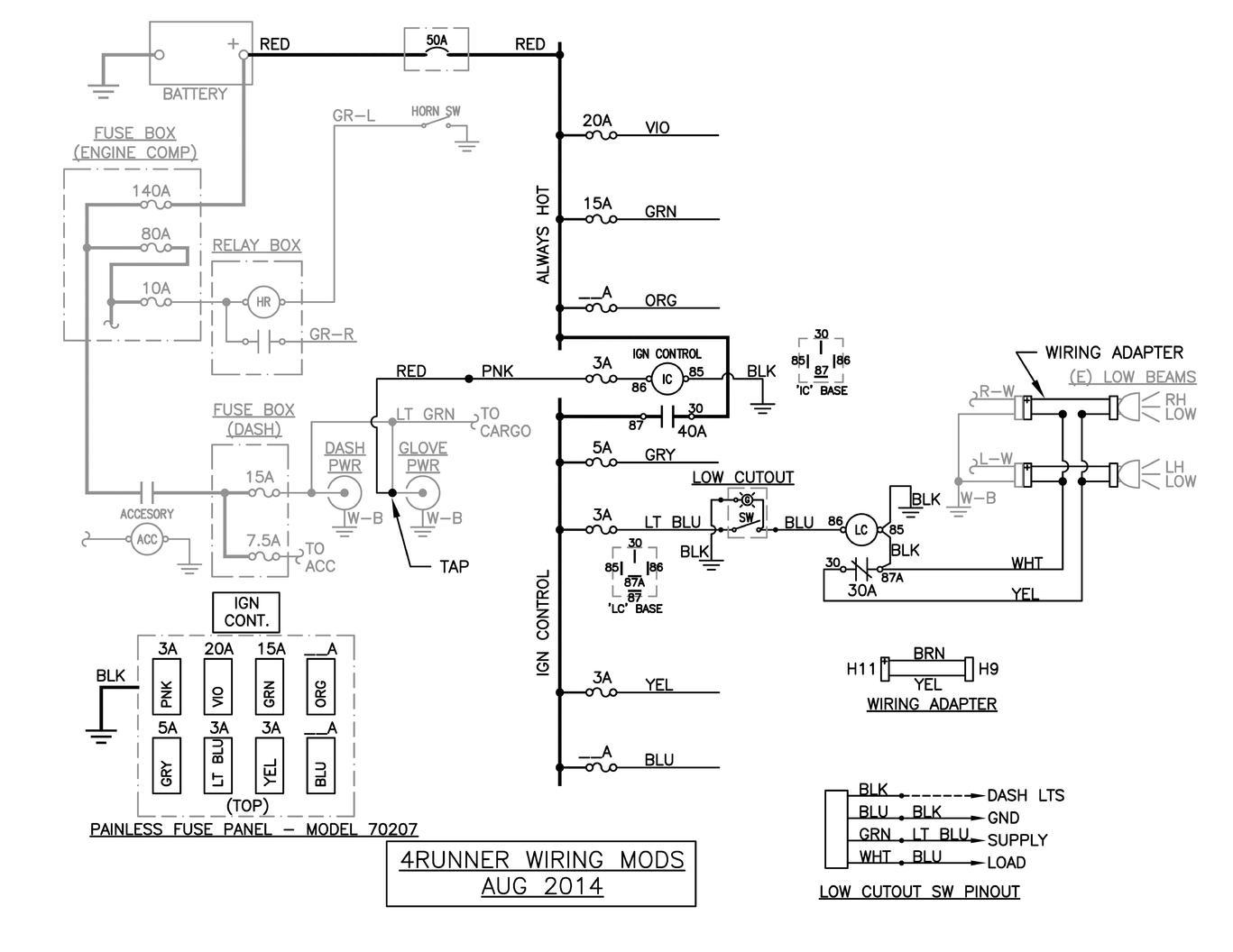 Toyota 4runner Wiring Diagram