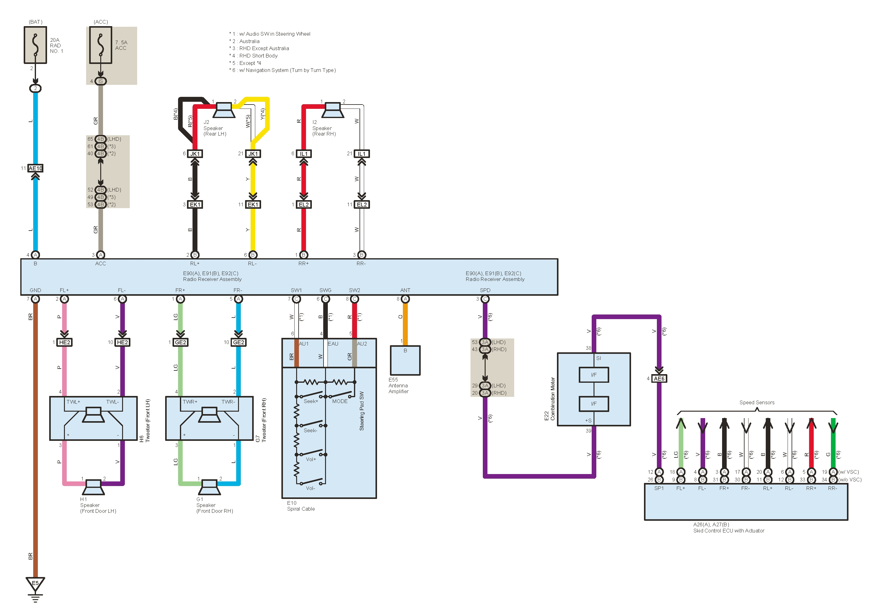 2004 Isuzu Rodeo Radio Wiring Diagram - Wiring Diagram and ...