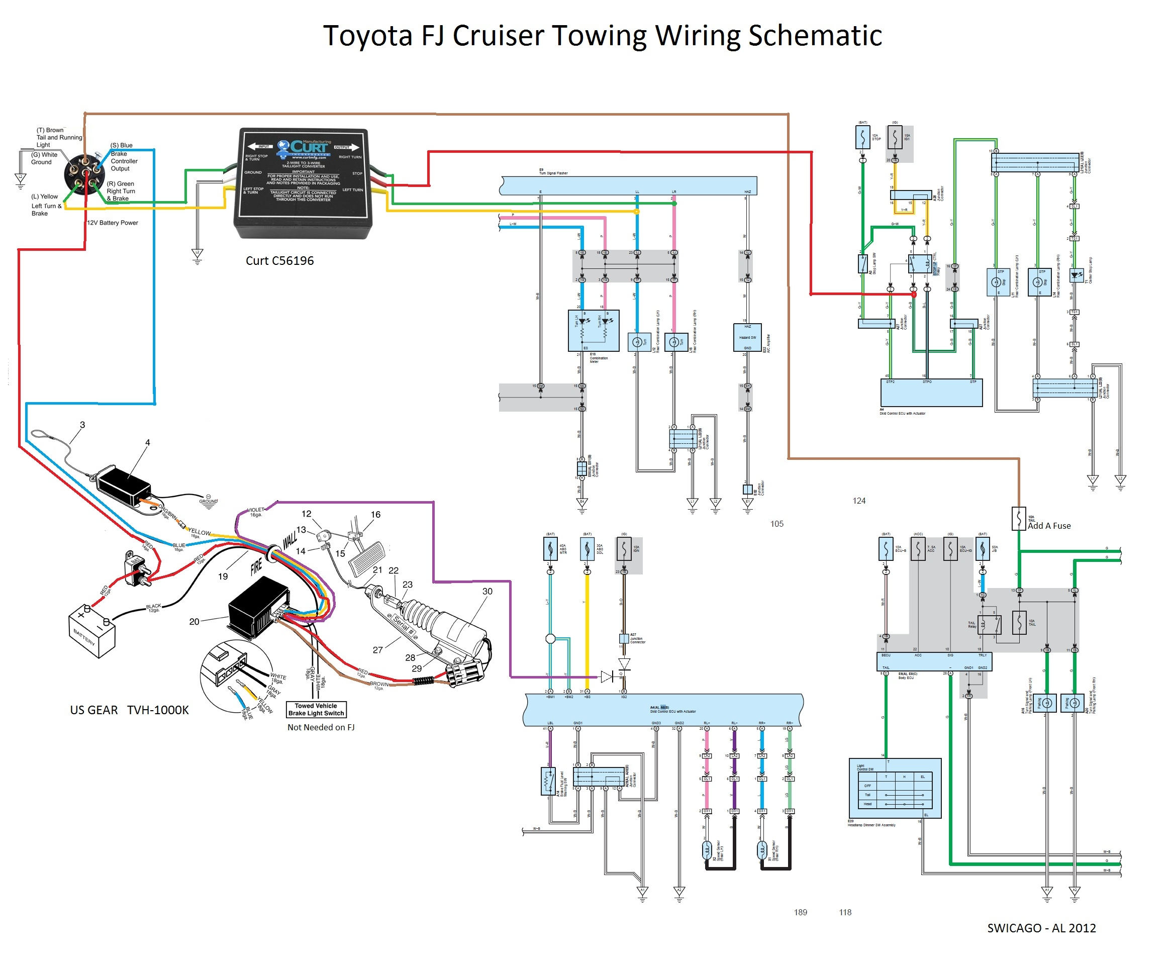 toyota trailer wiring diagram Download-Toyota Tundra Trailer Wiring Harness Diagram Beautiful Flat tow 6mt Yes It Can Be Done toyota 7-d