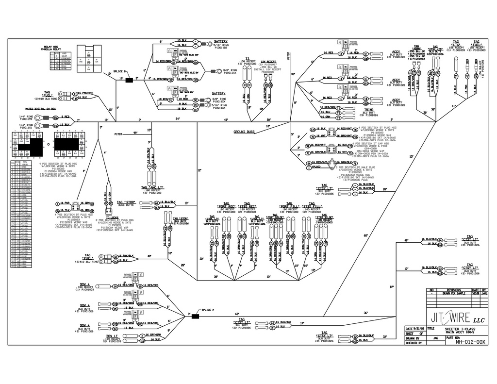 Triton Bass Boat Wiring Diagram