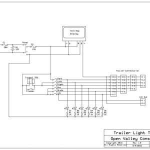 Trailer Light Tester Wiring Diagram - Trailer Light Tester Wiring Diagram Collection Trailer Light Tester Wiring Diagram Wire Data • 7 Download Wiring Diagram 17e