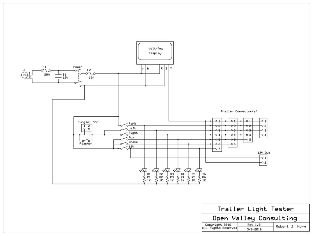 trailer light tester wiring diagram Collection-trailer light tester wiring diagram Collection Trailer Light Tester Wiring Diagram Wire Data • 7 DOWNLOAD Wiring Diagram 6-s