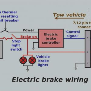 Trailer Wiring Diagram with Electric Brakes - 17 Great Wiring Diagram for Electric Brakes A Trailer Pic Good Looking Tekonsha P3 5s