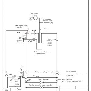 Trailer Wiring Diagram with Electric Brakes - Electric Trailer Jack Wiring Diagram Collection Bg for Electric Trailer Brakes Wiring Diagram 10 6t