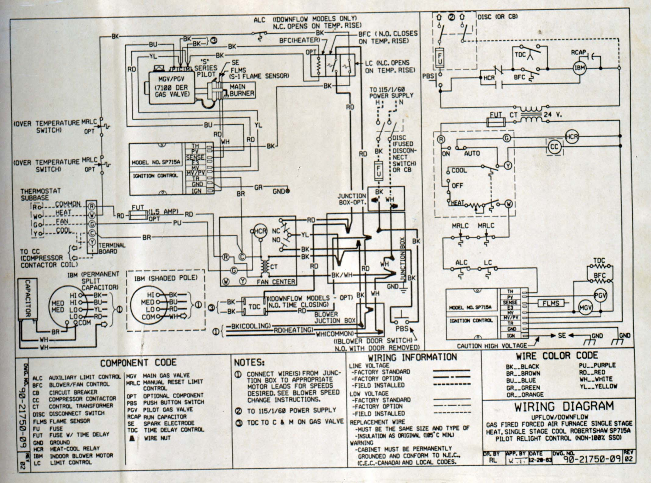 Trane Cleaneffects Wiring Diagram