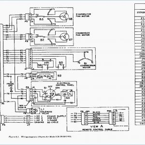 Trane Condenser Wiring Diagram - Trane Air Conditioner Wiring Diagram 5a F with for 20j