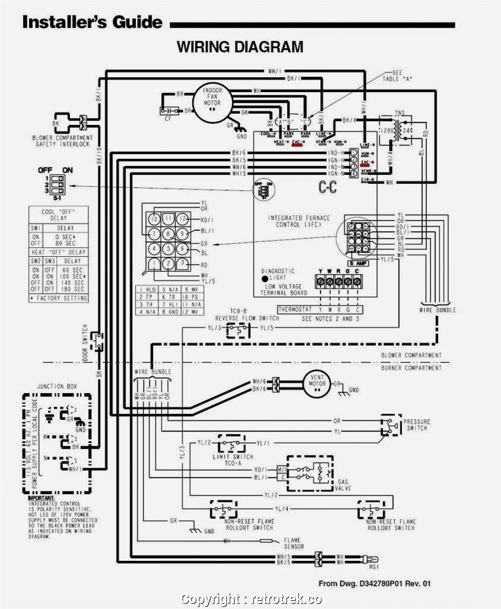 Trane Furnace Wiring Home Wiring Diagram Pass
