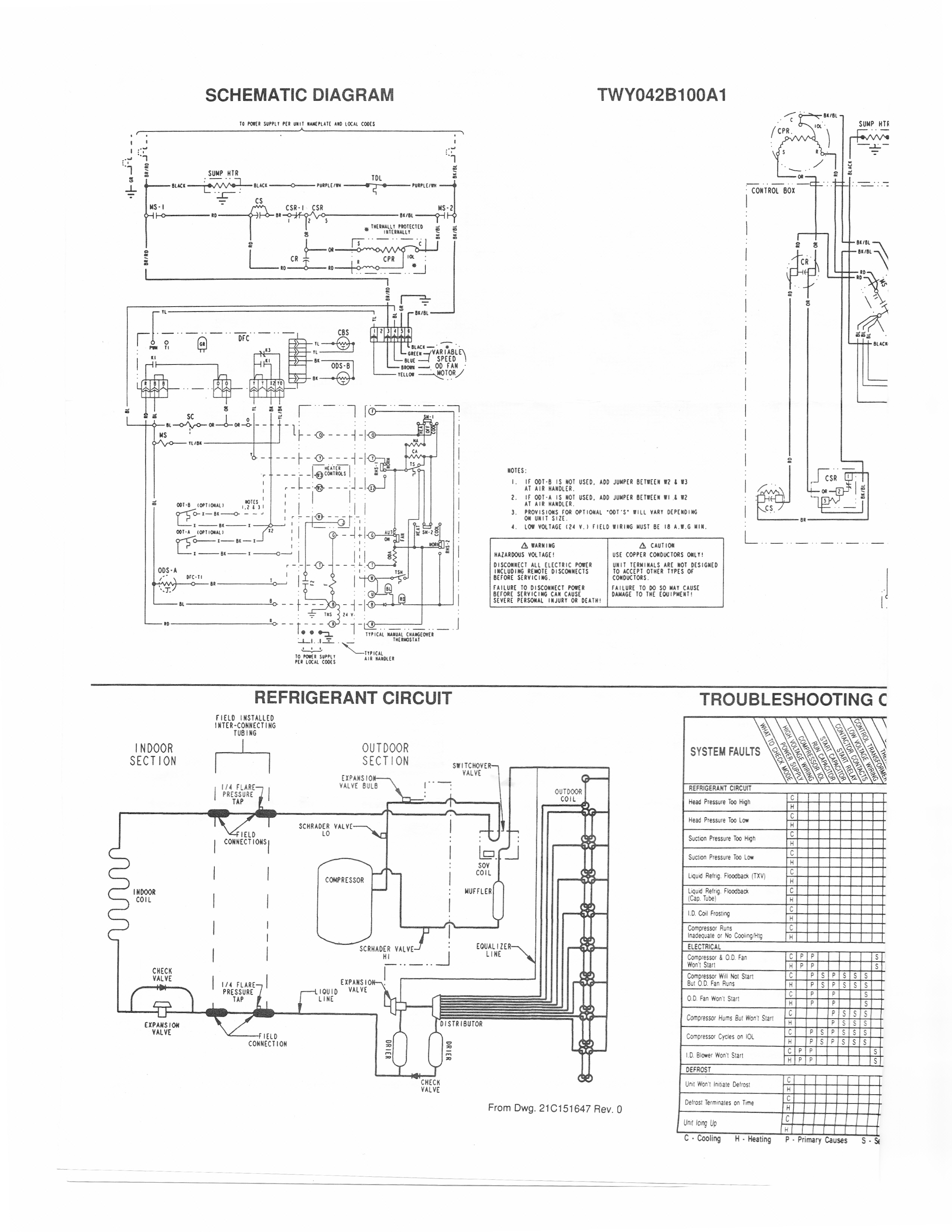 trane heat pump wiring diagram | free wiring diagram trane heat pump wire diagram