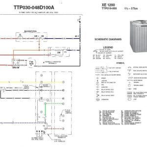 Trane Heat Pump Wiring Schematic - Trane Heat Pump Wiring Schematic with Electrical Pics and Best Xe1000 Diagram Random 2 2e