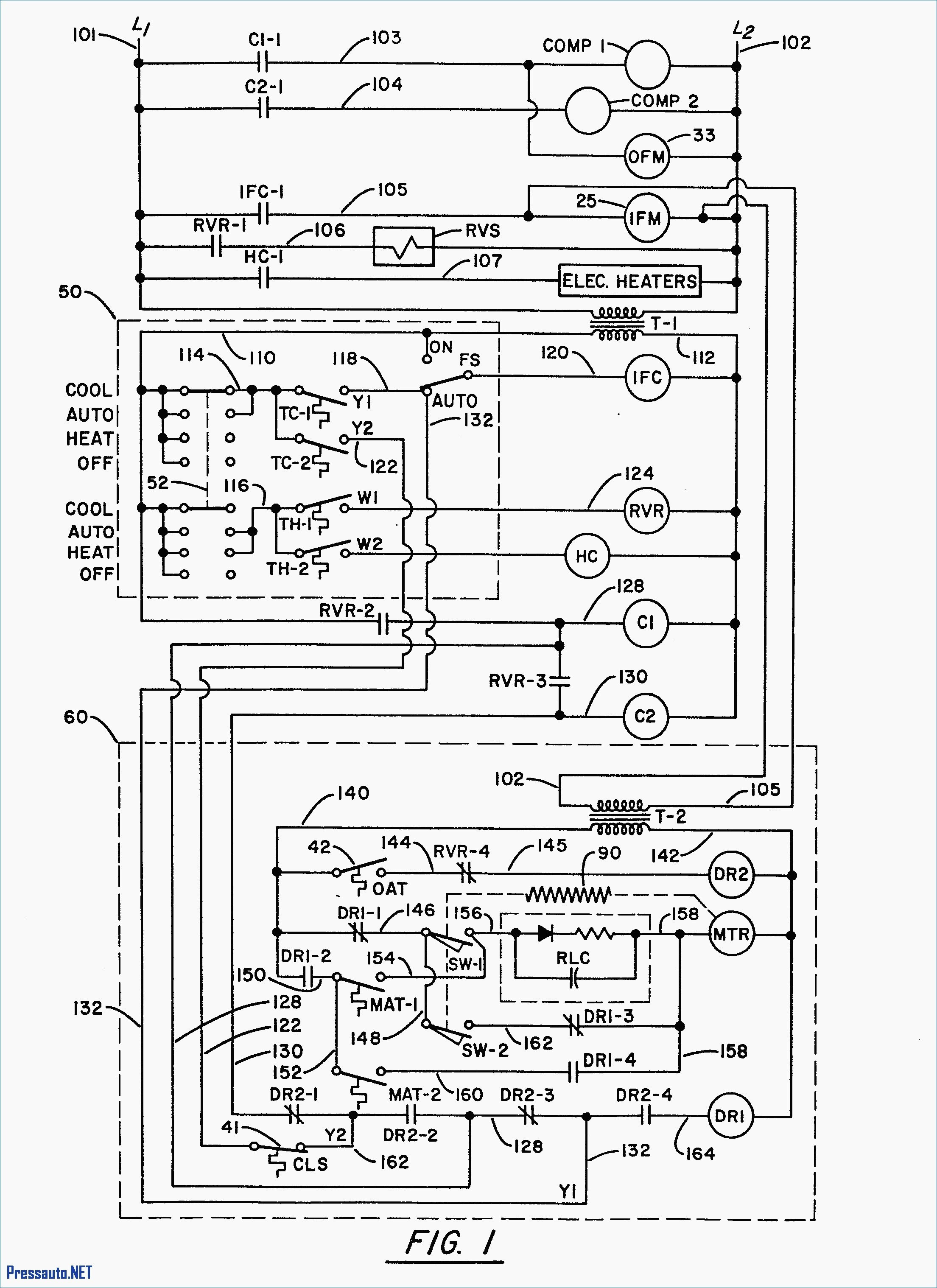 trane rooftop unit wiring diagram Download-Trane Hvac Wiring Diagram New Trane Rooftop Unit Wiring Diagram 10-n