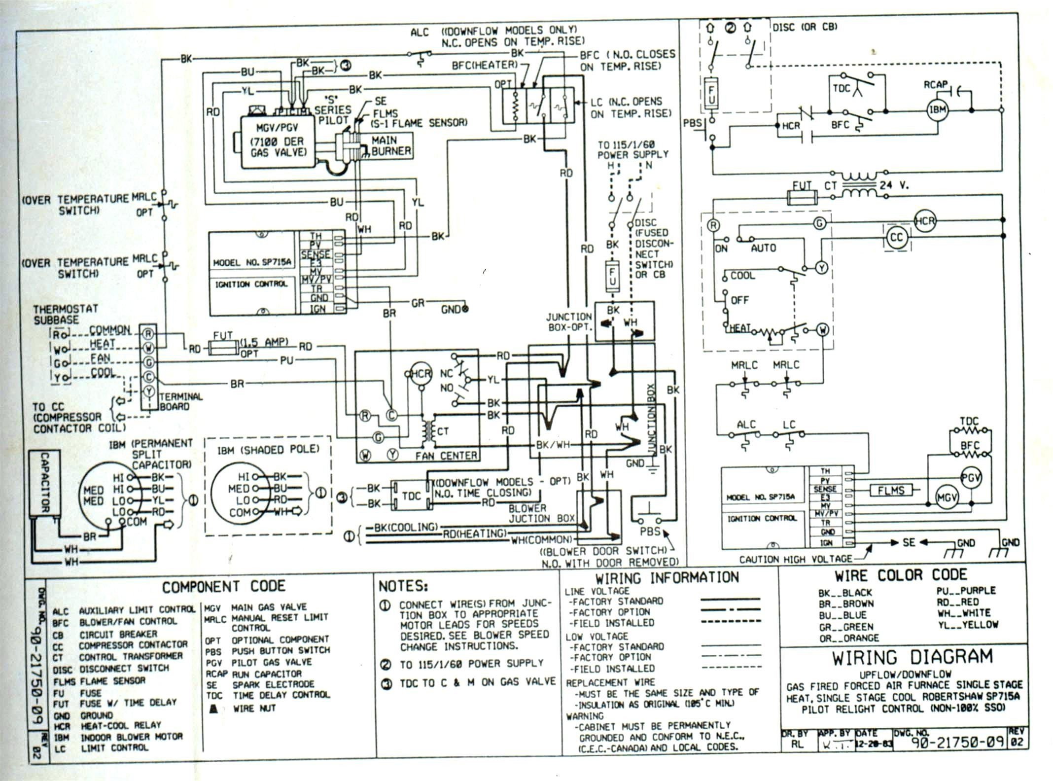 Bard Wiring Diagrams | Wiring Diagram | Article Review on emerson motors wiring diagrams, amana wiring diagrams, burnham boiler wiring diagrams, asco wiring diagrams,