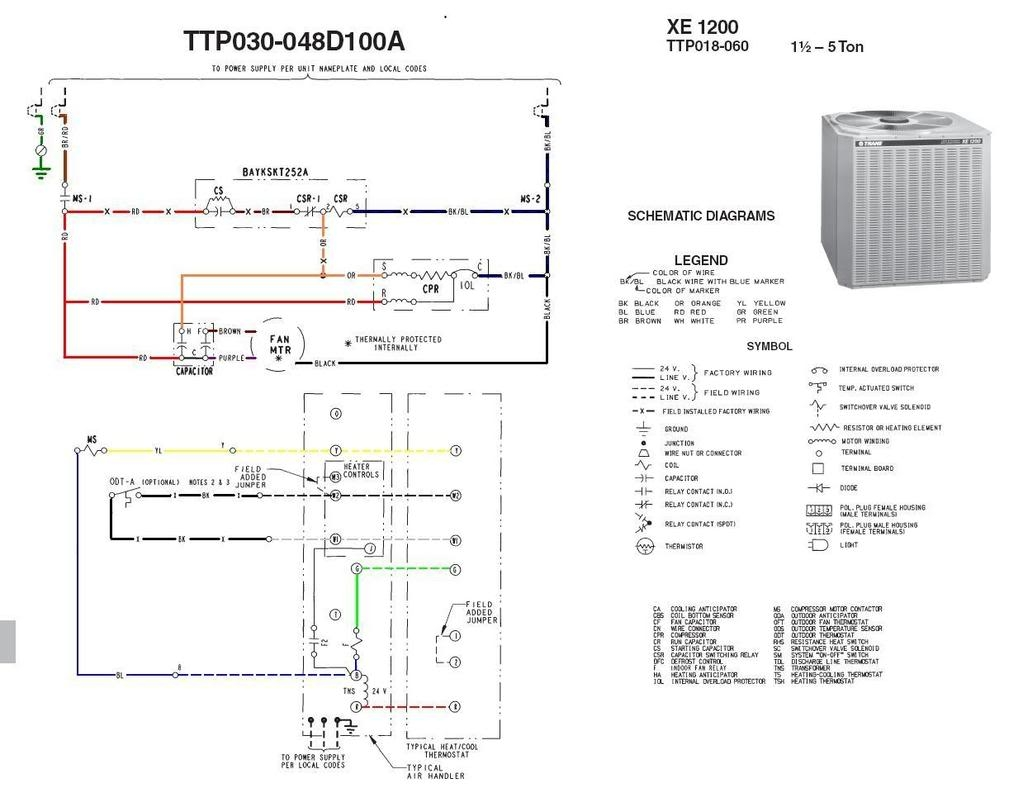trane unit heater wiring diagram | free wiring diagram unit heater wiring diagram 110 volt