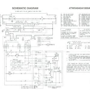 Trane Wiring Diagram Heat Pump - Wiring Diagram for Trane Xr14 Heat Pump Train Pumps 17t