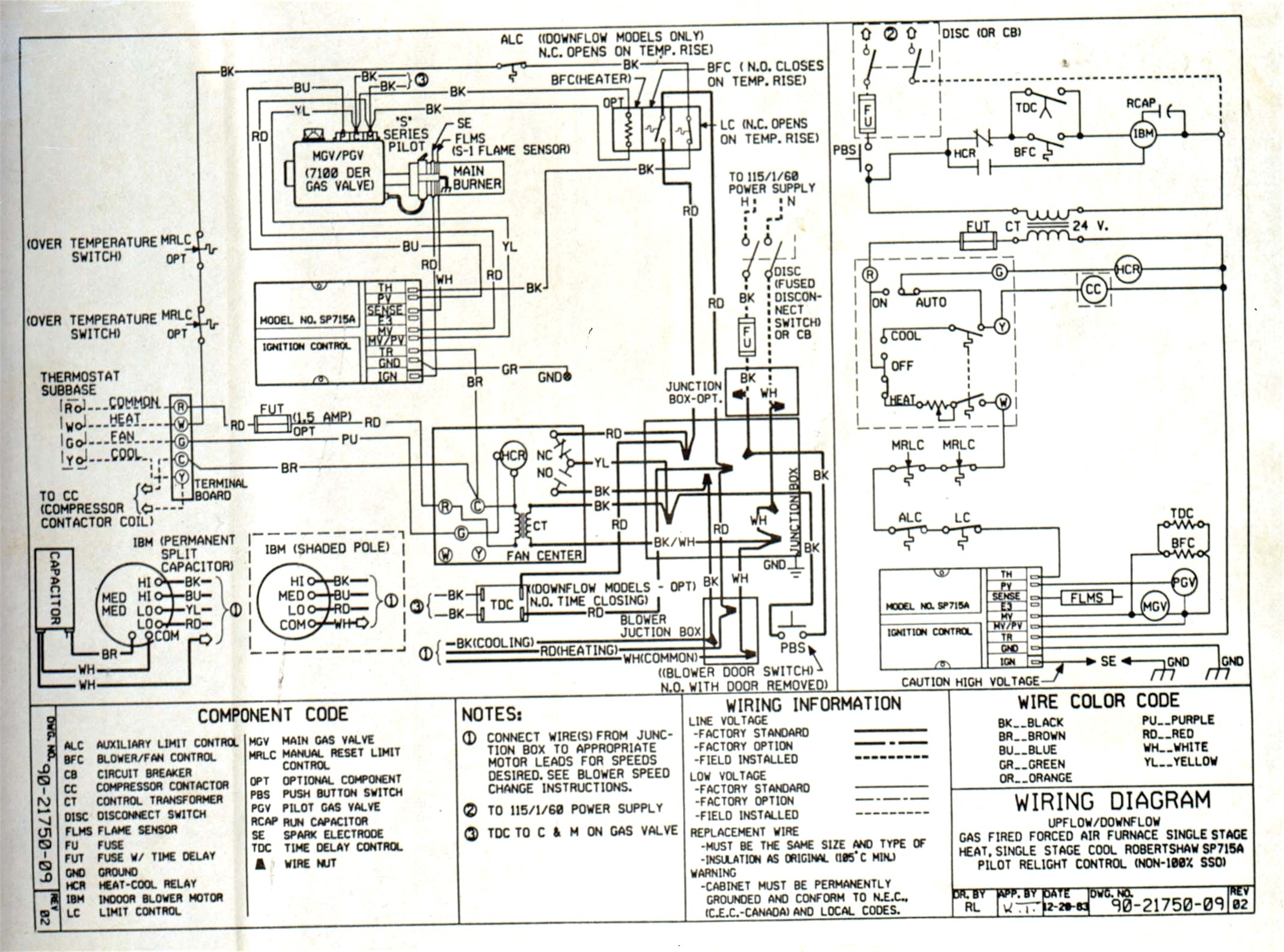 Trane Wsc060 Wiring Diagram