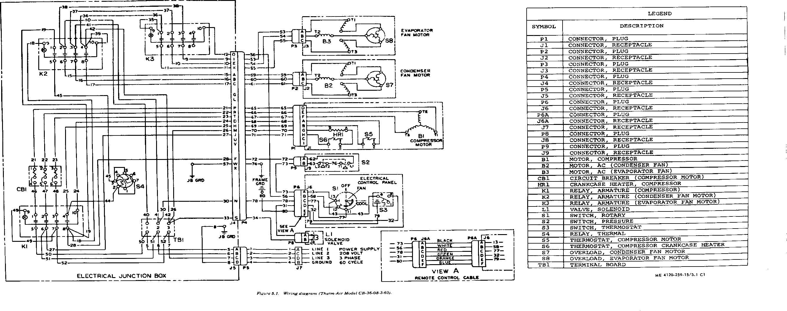 trane ycd 060 wiring diagram. Black Bedroom Furniture Sets. Home Design Ideas