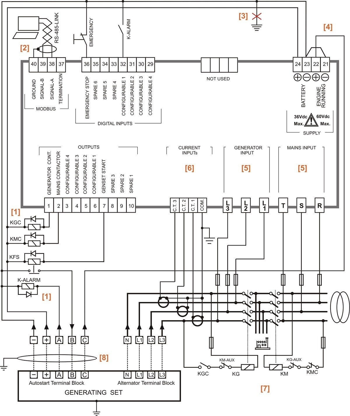 generac rtf 3 phase transfer switch wiring diagram transfer switch wiring schematic | free wiring diagram