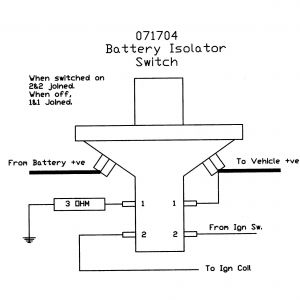 True Battery isolator Wiring Diagram - Wiring Diagram for Battery isolator Switch Best Wiring Diagram for A Guitar Kill Switch Refrence Battery 10n