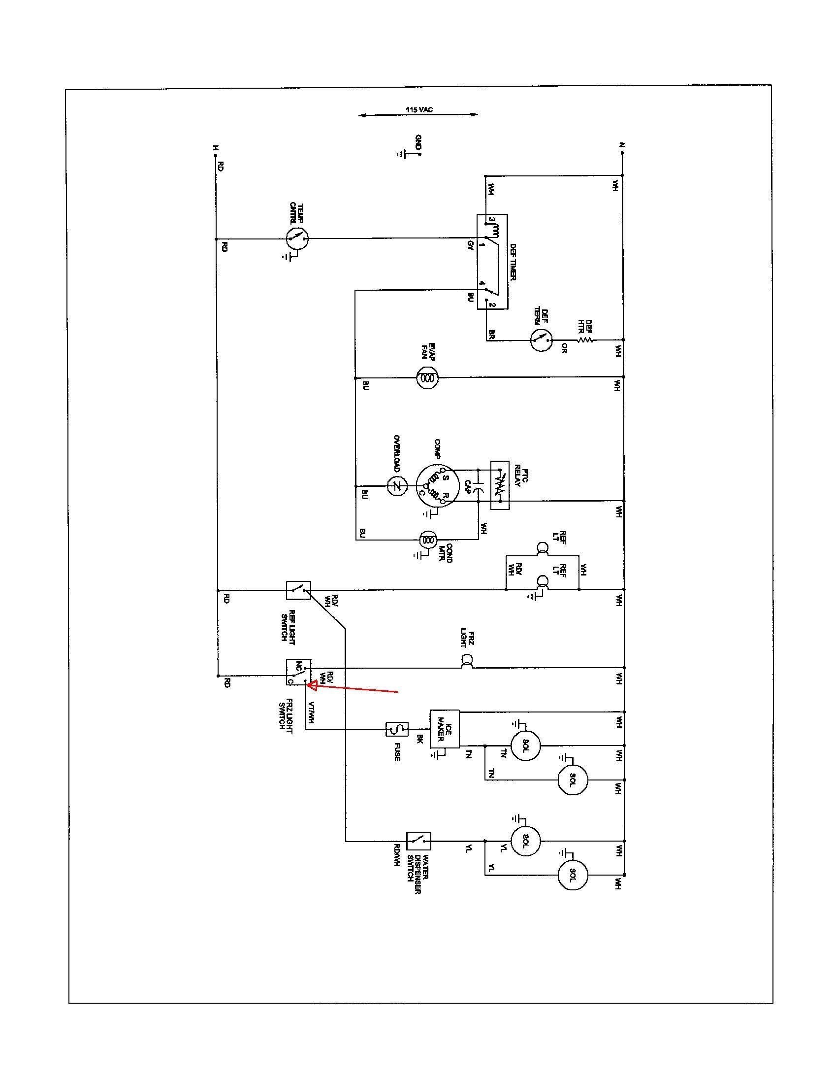 true t 49f wiring diagram Download-True Freezer Wiring Diagram True Freezer T 49f Wiring Diagram at T49f 19-b