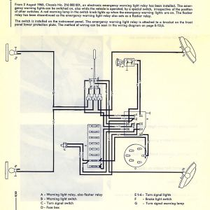 Turn Signal Switch Wiring Diagram - thesamba Type 2 Wiring Diagrams Turn Signal Wiring Diagram Turn Signal Wiring Diagram New Sw 13s